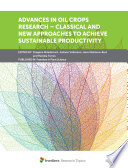 Advances in Oil Crops Research     Classical and New Approaches to Achieve Sustainable Productivity Book