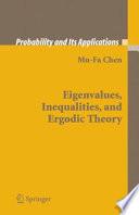 Eigenvalues Inequalities And Ergodic Theory