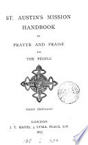 St  Austin s mission handbook pf prayer and praise for the people Book