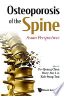 Osteoporosis Of The Spine  Asian Perspectives