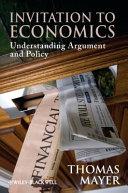 Invitation to Economics Book