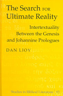 The Search for Ultimate Reality