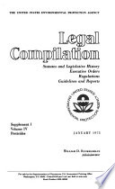 Legal Compilation Statutes And Legislative History Executive Orders Regulations Guidelines And Reports