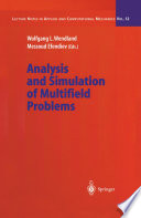 Analysis and Simulation of Multifield Problems Book