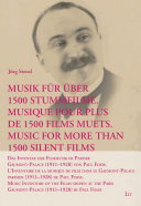 Music for more than 1500 silent films