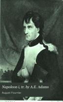 Napoleon i, tr. by A.E. Adams