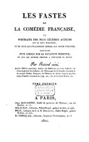 Les fastes de la Comédie française