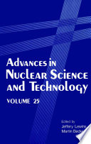 Advances In Nuclear Science And Technology Book PDF