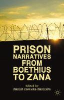 Prison Narratives from Boethius to Zana Pdf/ePub eBook