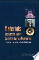 Materials Degradation And Its Control By Surface Engineering Book PDF