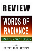 Review of Brandon Sanderson s Words of Radiance