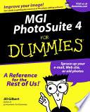 MGI PhotoSuite 4 For Dummies