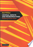 Crystals Defects And Microstructures Book PDF