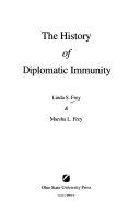 The History of Diplomatic Immunity Book PDF