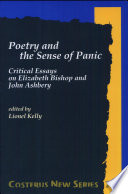 Poetry and the Sense of Panic