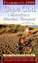 Frommer s  Cape Cod Nantucket   Martha s Vineyard Book