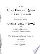 Our Little Kings And Queens At Home And At School