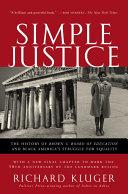 Pdf Simple Justice