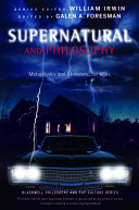 Supernatural and Philosophy Pdf/ePub eBook