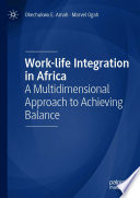 Work life Integration in Africa