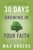 30 Days to Growing in Your Faith Pdf/ePub eBook