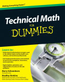 Technical Math For Dummies [Pdf/ePub] eBook