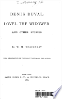 Denis Duval: Lovel the Widower