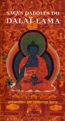Pdf Sages paroles du dalaï-lama Telecharger