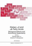 Dietary   3 and   6 Fatty Acids