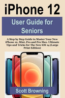 IPhone 12 User Guide for Seniors