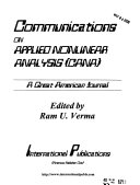 Communications on Applied Nonlinear Analysis