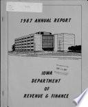 Annual Report of the Iowa Department of Revenue