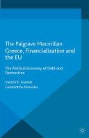 Greece, Financialization and the EU [Pdf/ePub] eBook