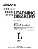 Lovejoy s College Guide for the Learning Disabled