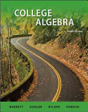 Combo  College Algebra with ALEKS User Guide   Access Code 18 Weeks