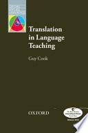 Translation in Language Teaching