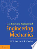 Foundations and Applications of Engineering Mechanics Book