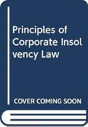 Goode on principles of corporate insolvency law