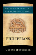 Philippians  Brazos Theological Commentary on the Bible