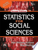 Statistics For Social Sciences With Spss Applications  Book