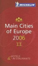 Main Cities of Europe 2006