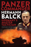 Panzer Commander Hermann Balck [Pdf/ePub] eBook