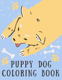 Puppy Dog Coloring Book