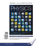 Physics, Books a la Carte Edition