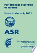 Performance recording of animals   State of the art  2002