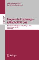 Progress in Cryptology    AFRICACRYPT 2011