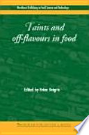 Taints and Off Flavours in Foods Book