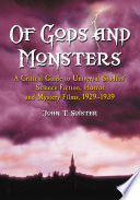 Of Gods and Monsters Book