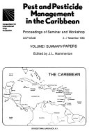 Pest and Pesticide Management in the Caribbean Book