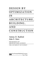 Design by Optimization in Architecture  Building  and Construction